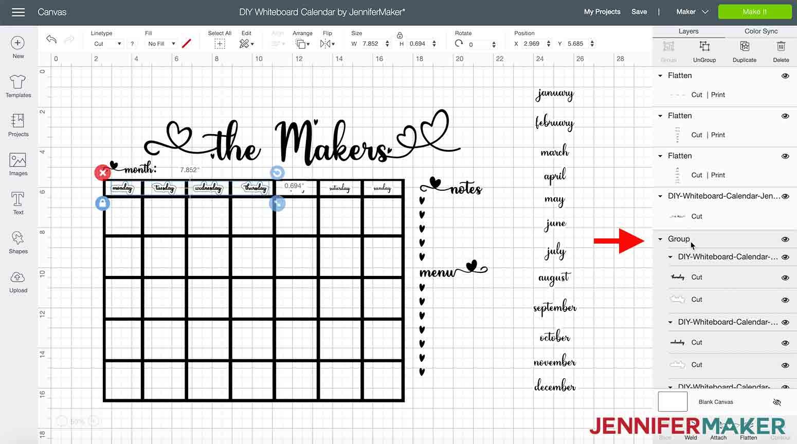 DIY-Whiteboard-Calendar-JenniferMaker-select-group-four