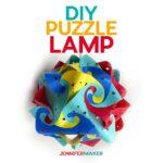 Fun and Unique DIY Puzzle Lamp