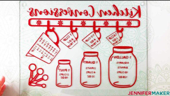 Kitchen Conversion Chart Jennifermaker replace feet