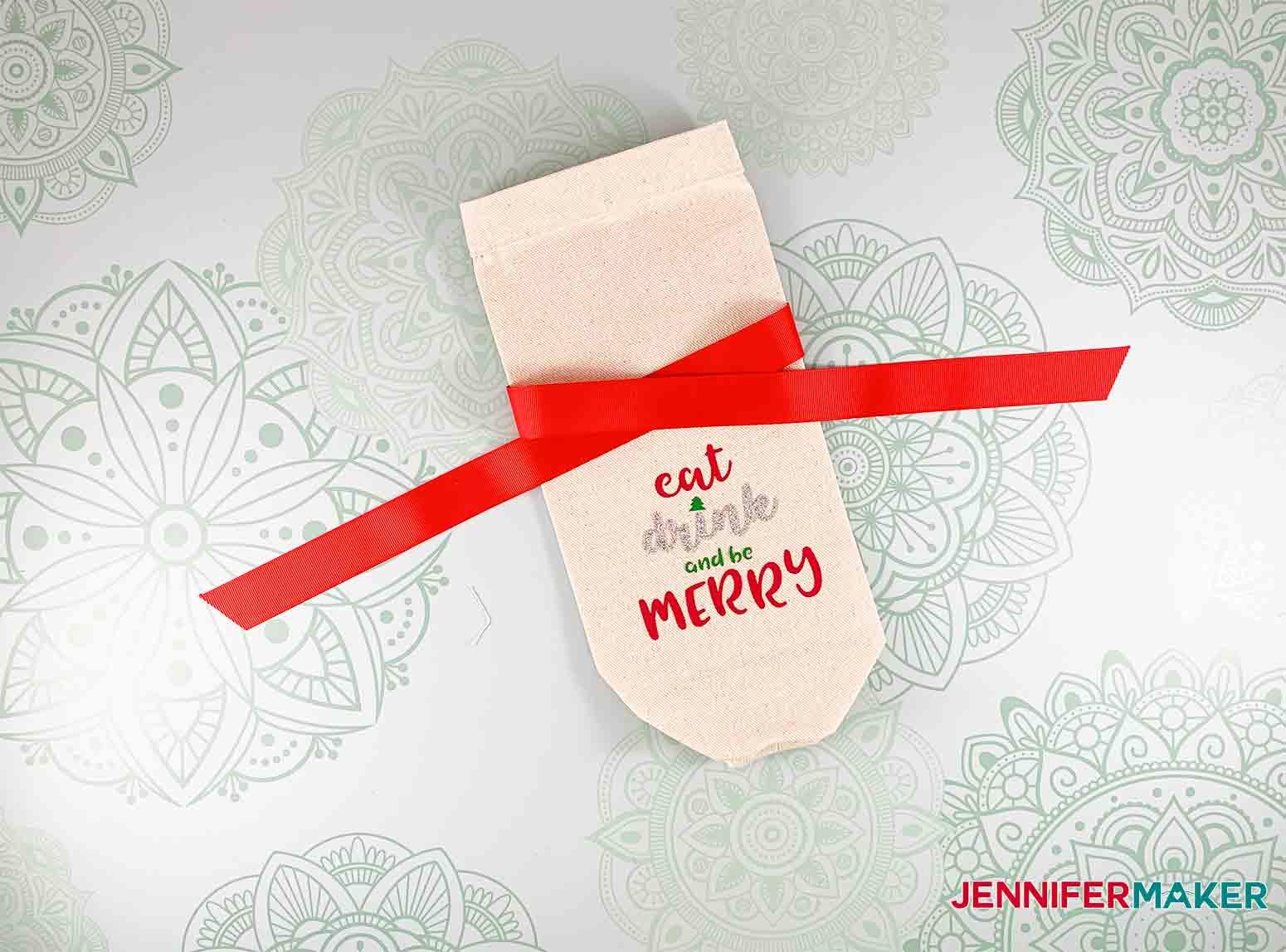 Festive-Holiday-Wine-Totes-JenniferMaker-add-svg-Iron-on-vinyl3