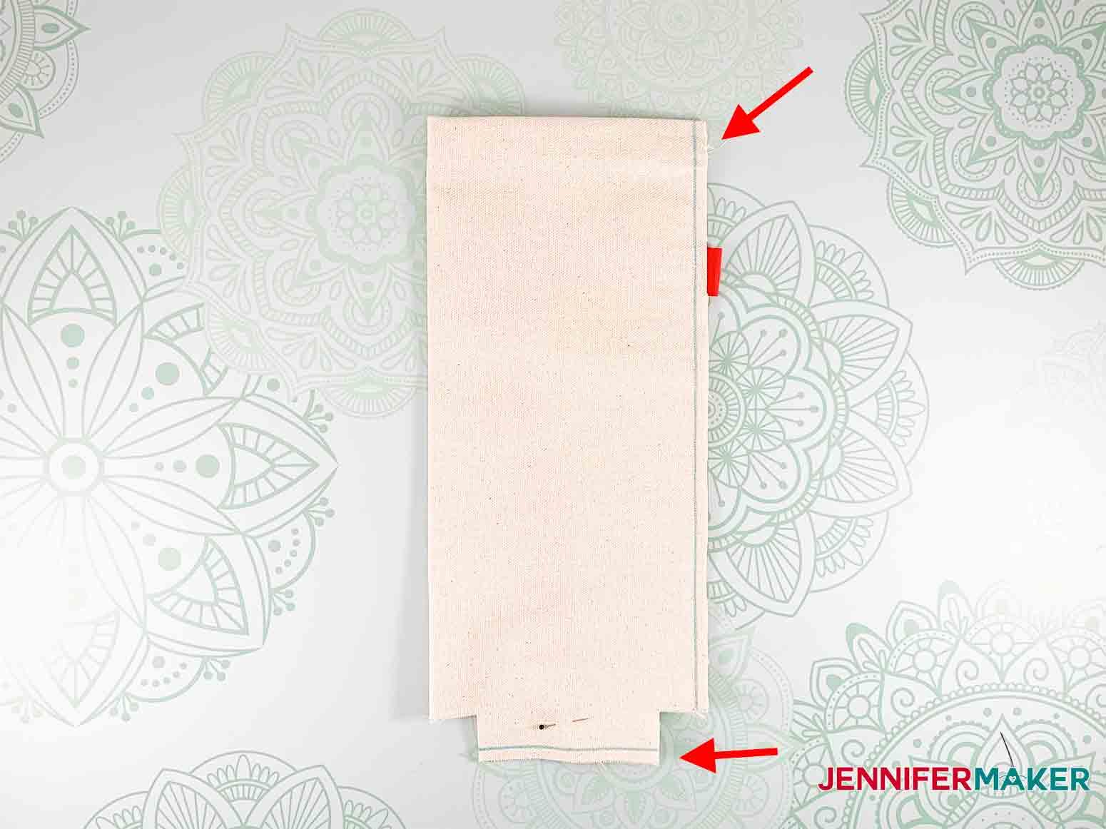 Festive-Holiday-Wine-Totes-JenniferMaker-fold-sew