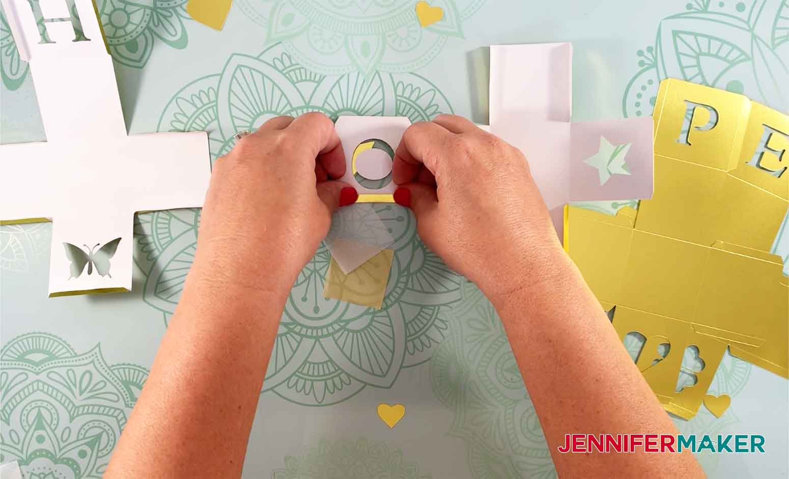 HOPE-Light-Up-Letter-Blocks-JenniferMaker-Bending-Tabs