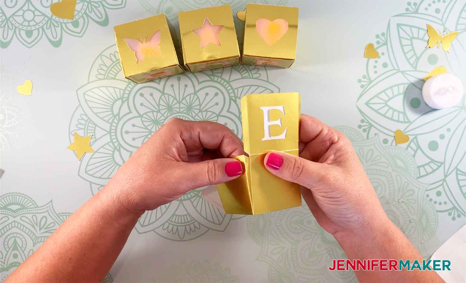 HOPE-Light-Up-Letter-Blocks-JenniferMaker-Pressing-Block-Together