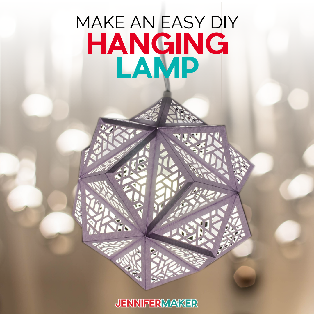 DIY Hanging Light with tea light to decorate your home