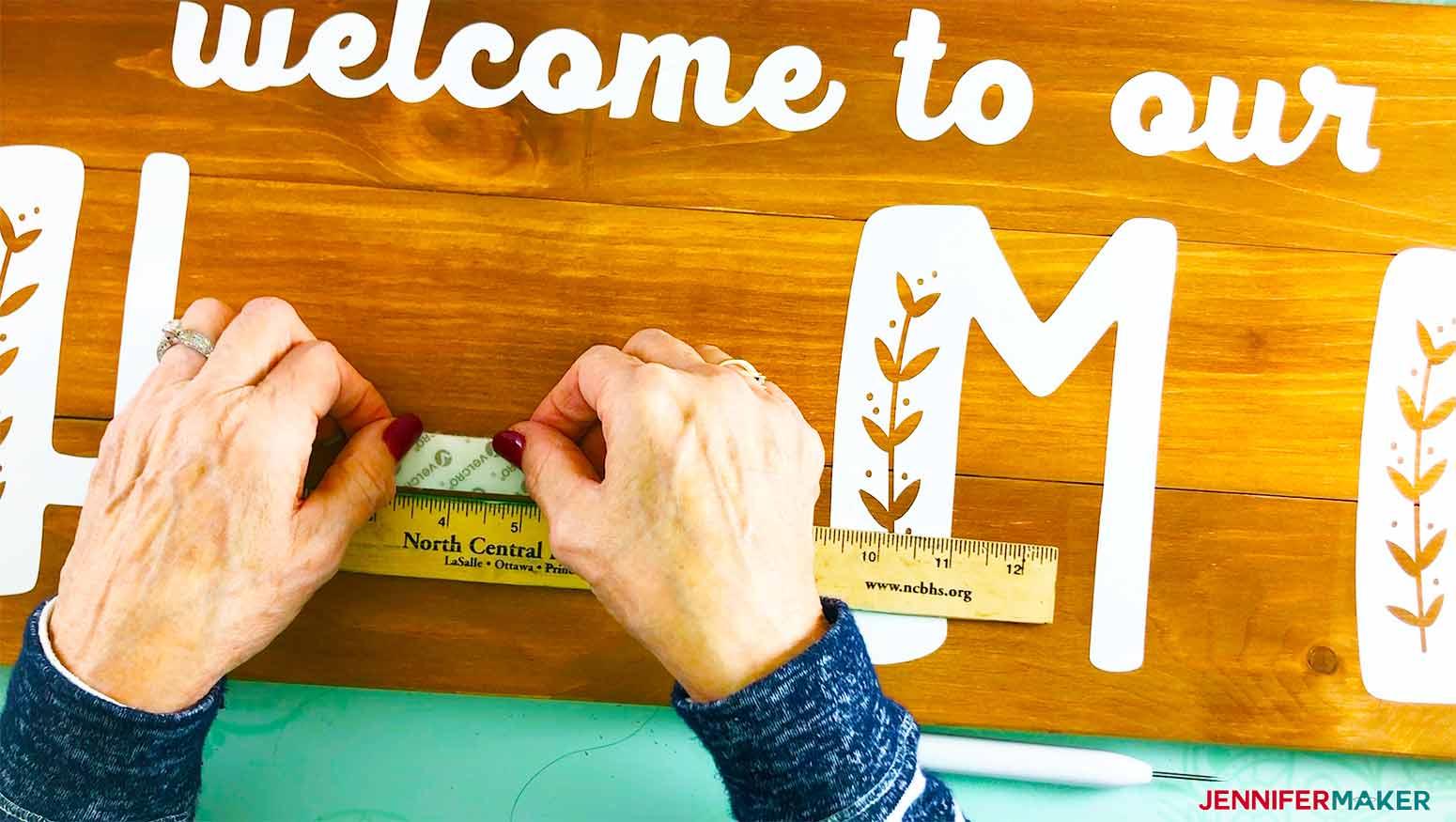 Home-Board-Jennifermaker-palacing-velcro-on-board