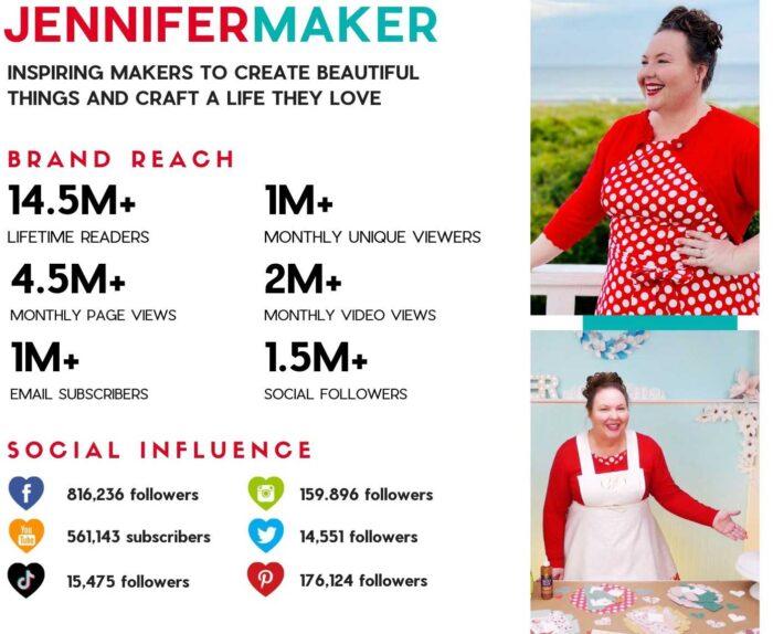 JenniferMaker Brand Information