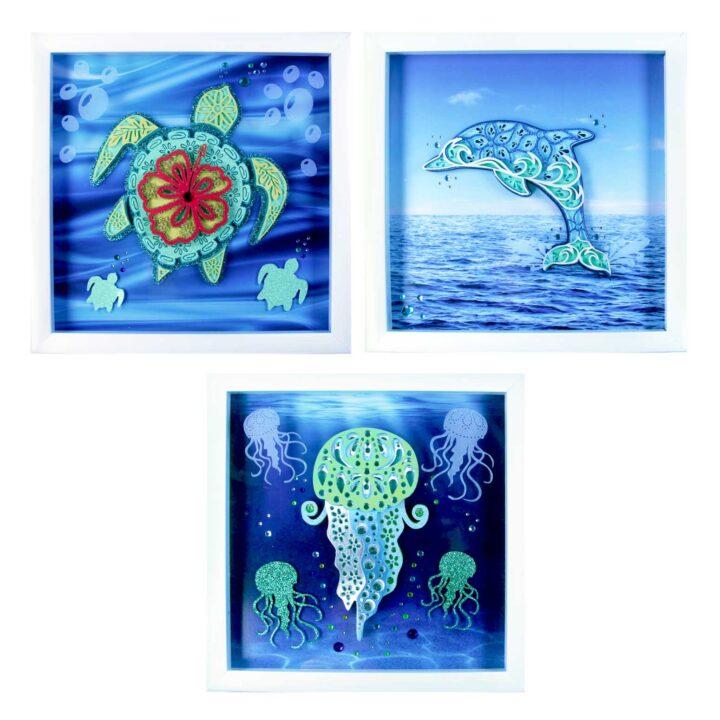 Layered Sea Animals SVGs