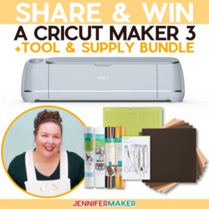 Cricut Giveaway: Enter to win a Cricut cutting machine. Contest ends on the 25th of each month. Open to US residents only. See official rules for details. #cricut #cricutjoy