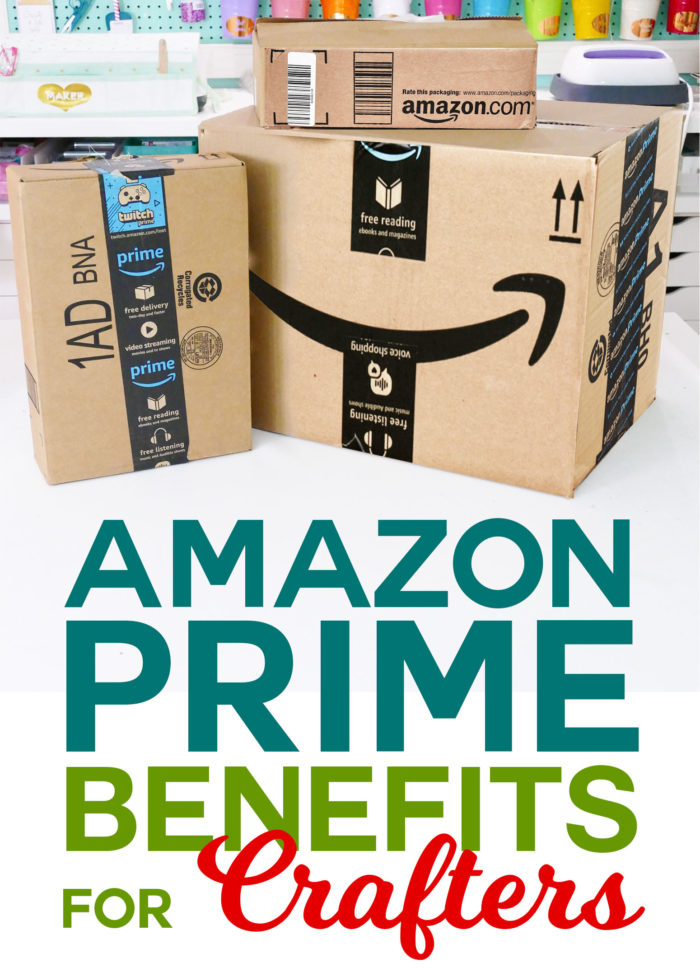 Amazon Prime Benefits for Crafters - Save Time and Money!