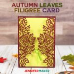 Make Autumn & Fall Wedding Invitations and Cards