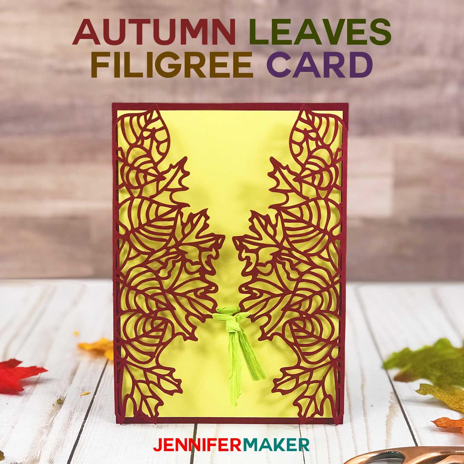 Make Autumn Fall Wedding Invitations And Cards Jennifer Maker