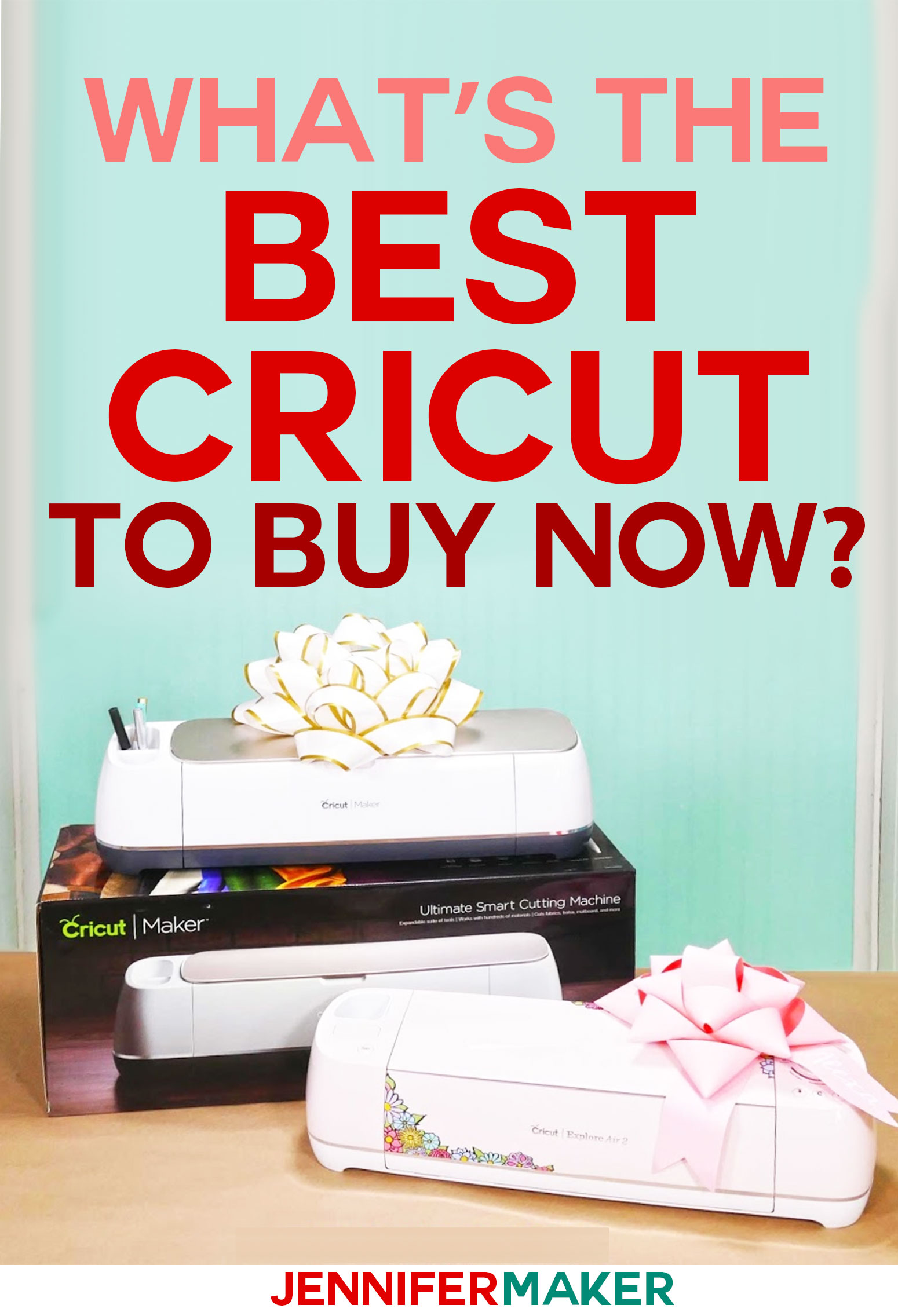 What's the Best Cricut Machine to Buy | Cricut Explore or Cricut Maker | Accessories and Supplies for Getting Started with Cricut | #cricut #cricutexplore #cricutmaker #buyingguide
