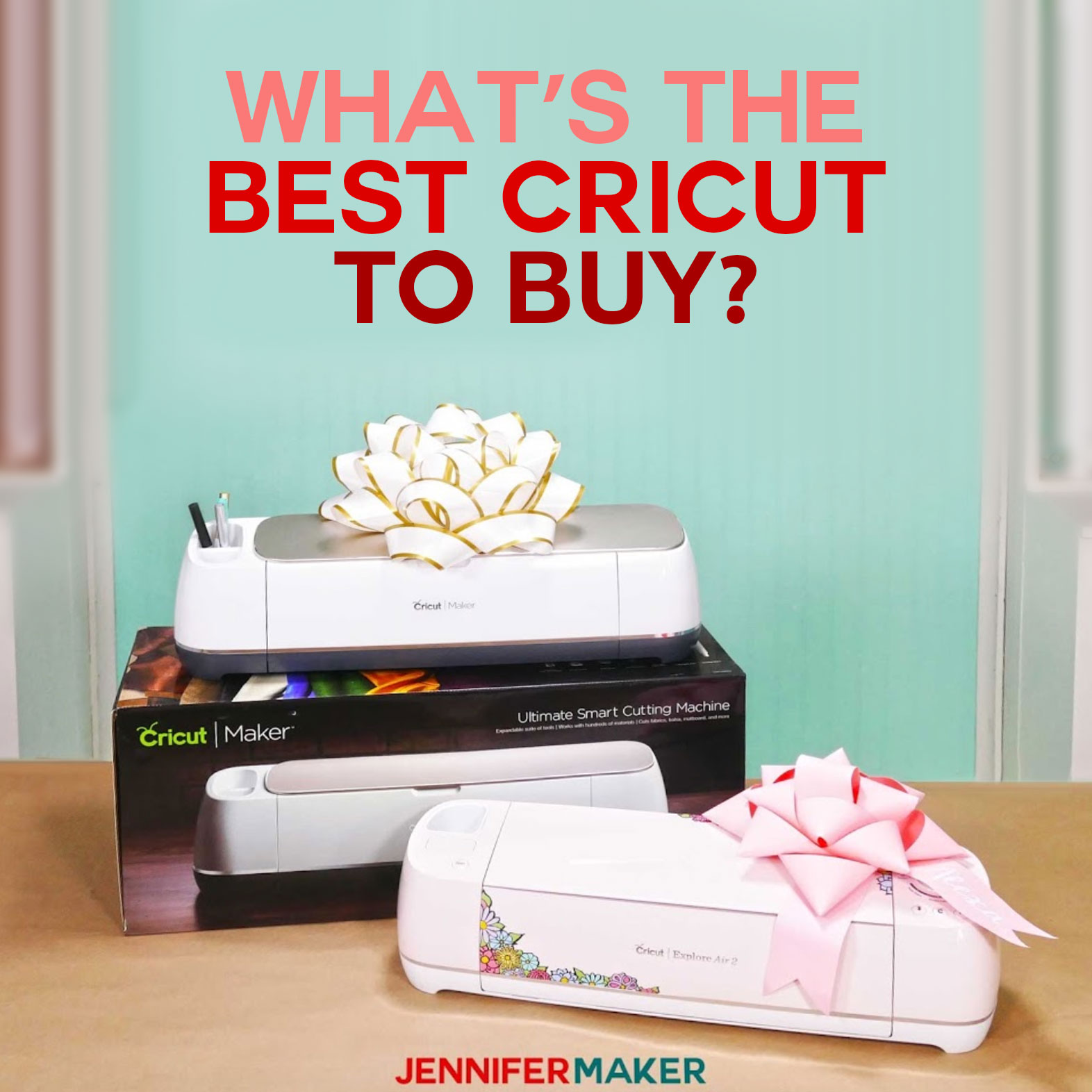 Best Cricut Machine To Buy For Beginners