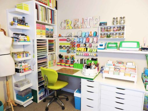 Storage For Craft Room: The Best IKEA Craft Room Storage Shelves & Ideas