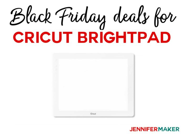 Black Friday Deals for Crafts: Cricut BrightPad on Sale!