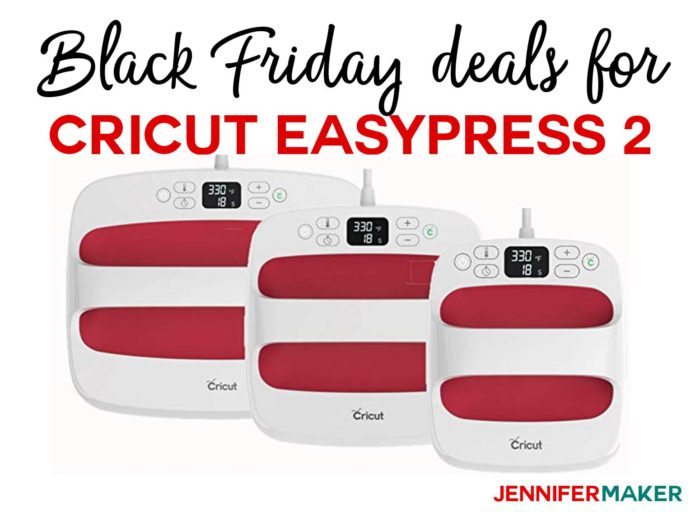 Black Friday Deals for Crafts: Cricut EasyPress 2 on Sale!