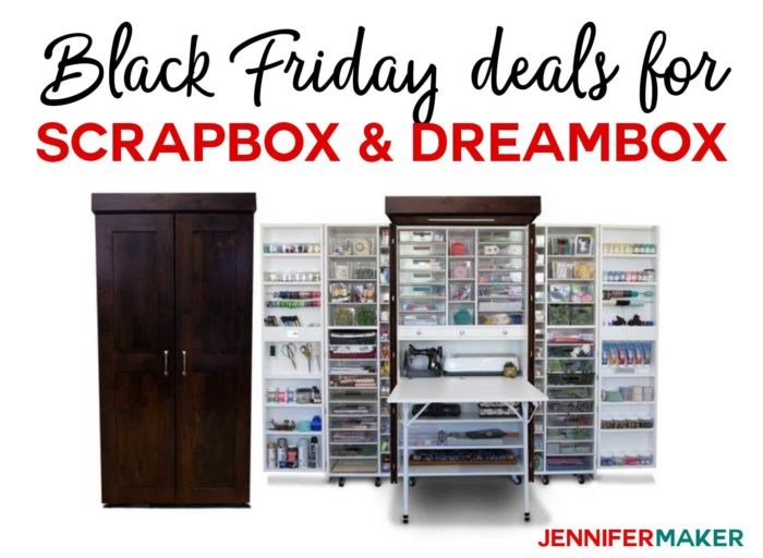Black Friday Deals for Crafts: The Original ScrapBox WorkBox DreamBox on Sale!