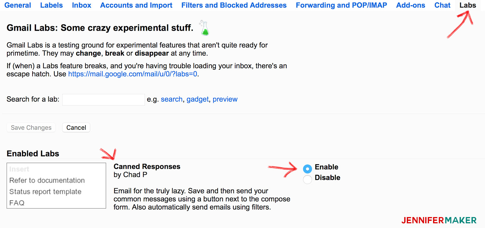 Using Gmail Labs to Respond to Blog Emails Better