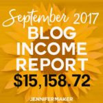 How Do Blogs Make Money: Income Reports Tell The Story of Blogging Revenue (September 2017) #incomereports #blogging
