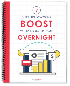 7 Ways to Boost Your Blog Income Overnight - How Blogs Make Money