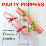DIY Party Popper | Christmas Cracker Tutorial | Cricut Silhouette SVG Cut File