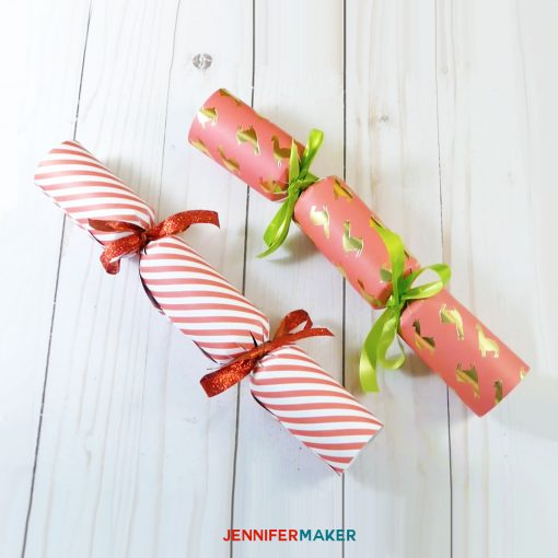 DIY Party Popper | Christmas Cracker Tutorial | Cricut Silhouette SVG Cut File
