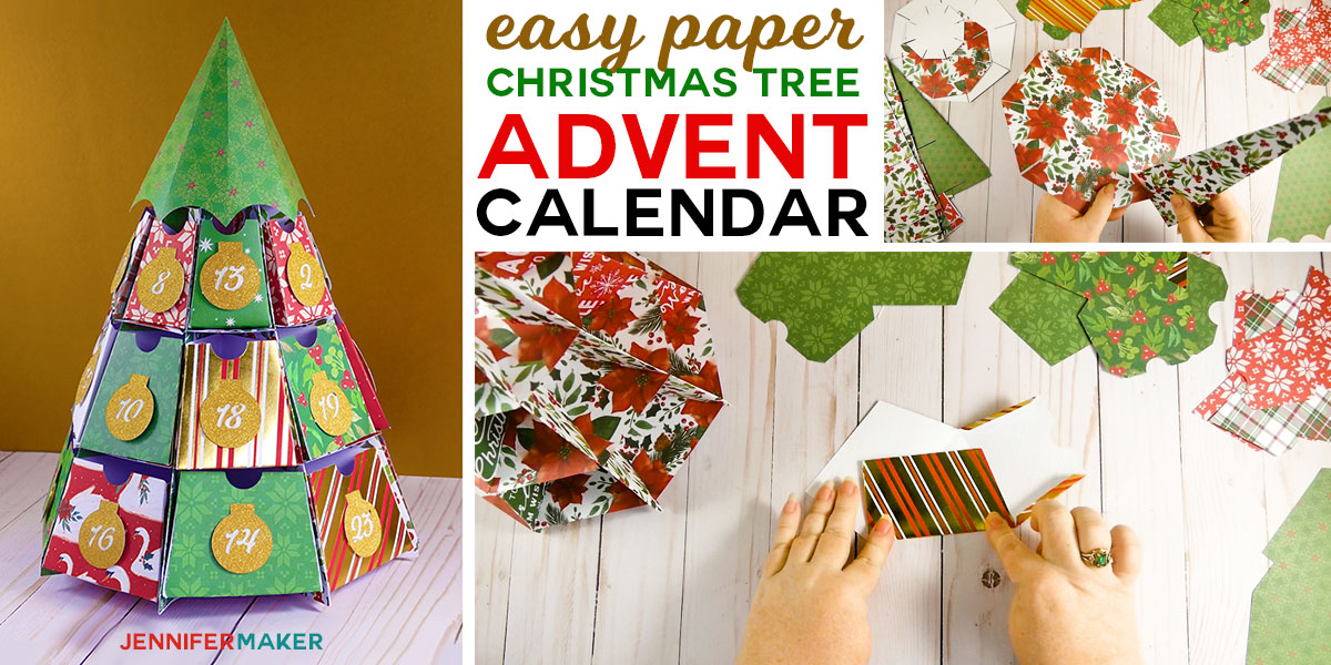 Christmas Tree Advent Calendar: 25 Days Of Maker Projects