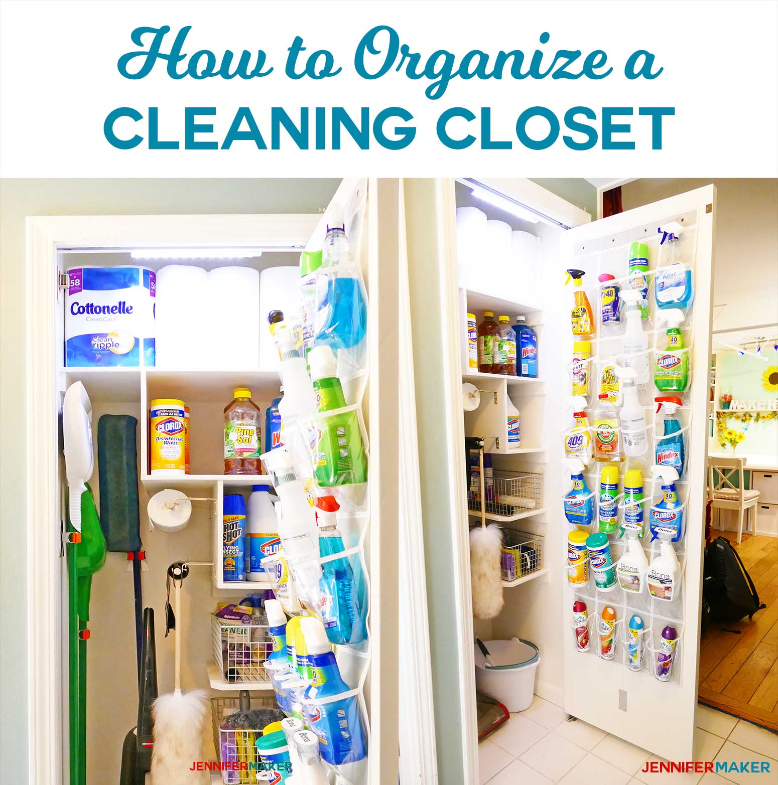 Cleaning Closet Organization And Tips