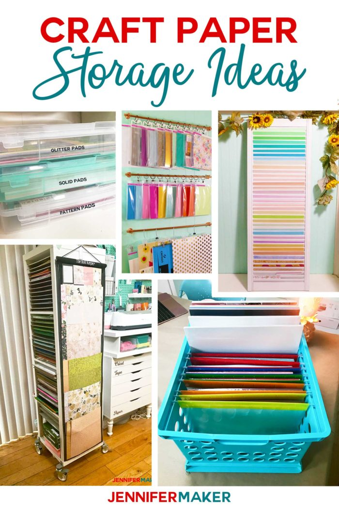 972ba07ca65 Craft Paper Storage Ideas  The Best Organization Solutions ...