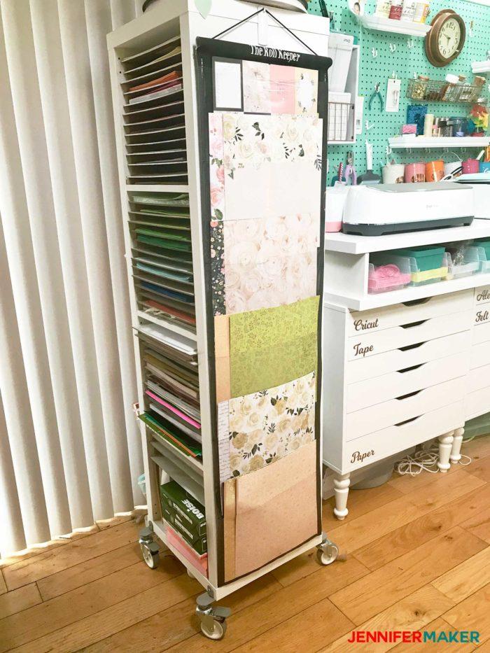 Craft Paper Storage Idea - The Sheet Keeper