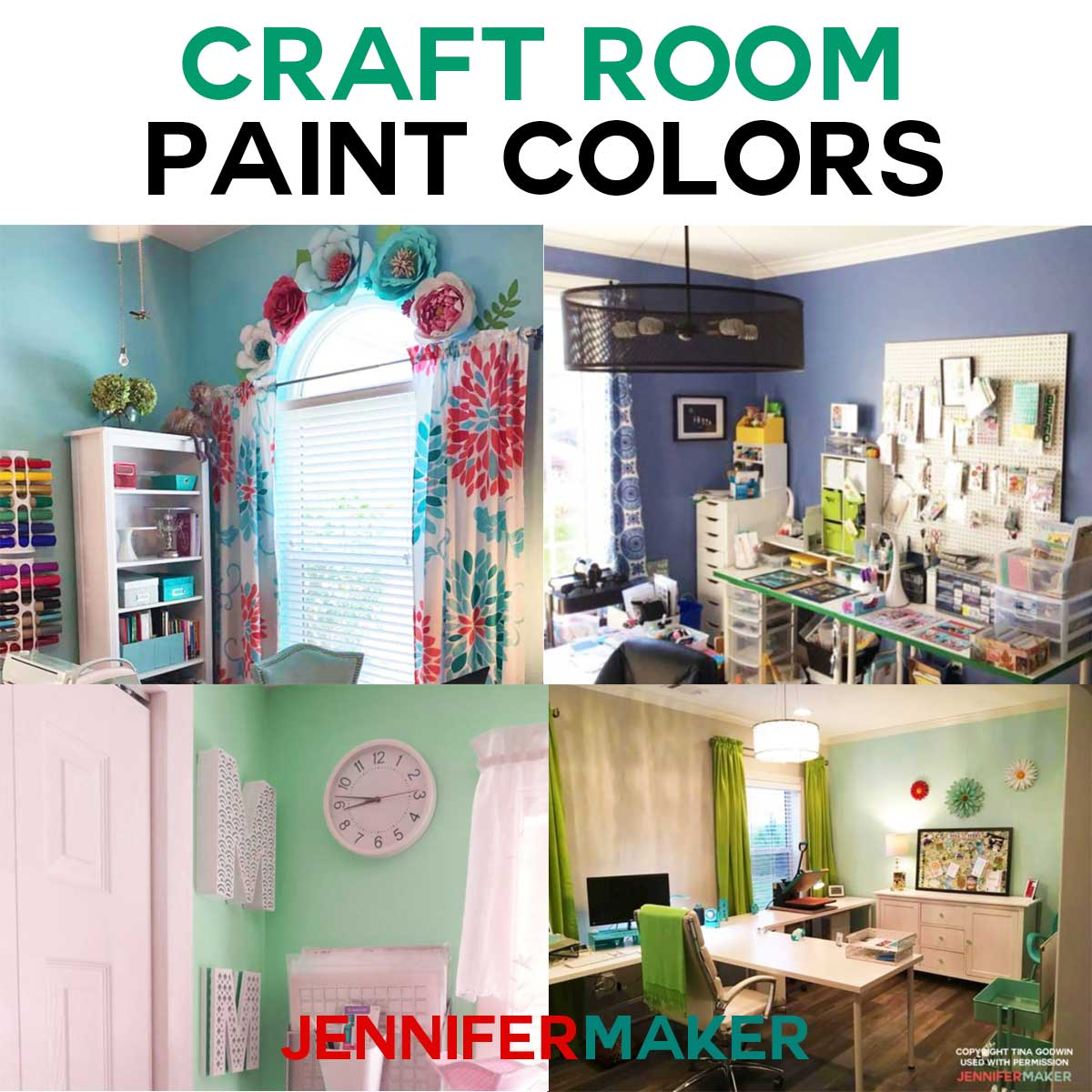 Craft Room Paint Color Ideas Colors Craftroom