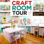 Craft Room Tour: My Organization and Storage Projects
