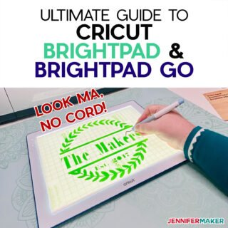 Cricut BrightPad & BrightPad Go Ultimate Guide to easier weeding and tracing with Cricut's light pad