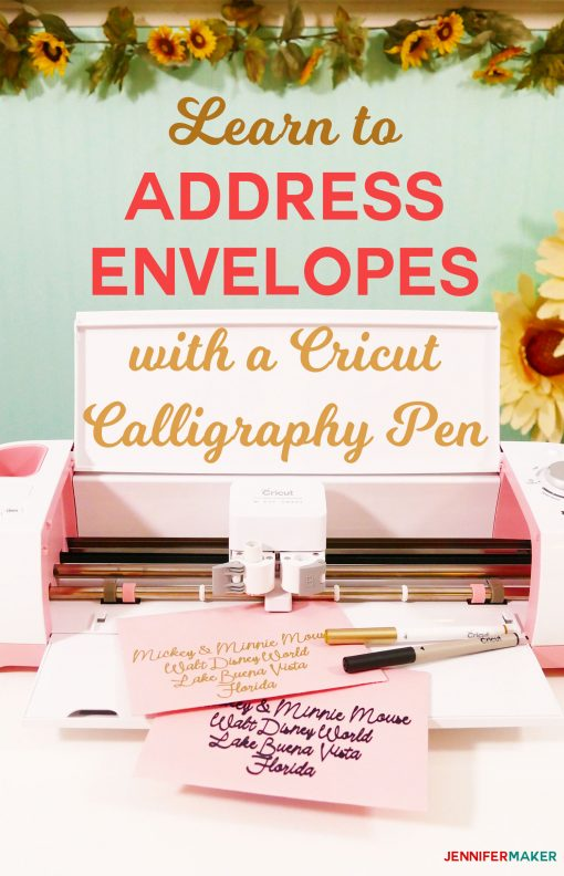 Cricut Writing and Pen Tutorial Tips and Tricks Jennifer Maker