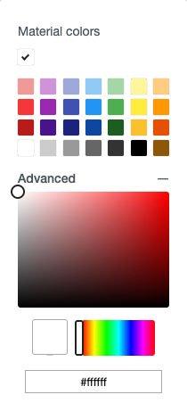 Advanced Color Picker in Cricut Design Space