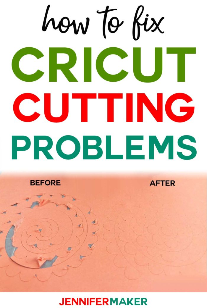 Cricut Cutting Problem Tips & Solutions #cricutmade #cricut #cricutexplore #diy