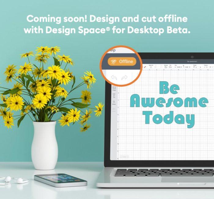 Cricut Design Space for Desktop is coming soon!