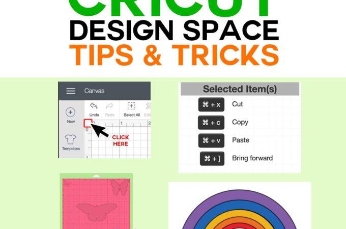 Best Cricut Design Space Tips & Tricks & Tutorials #cricut #cricutexplore #cricutmaker #tips #crafts