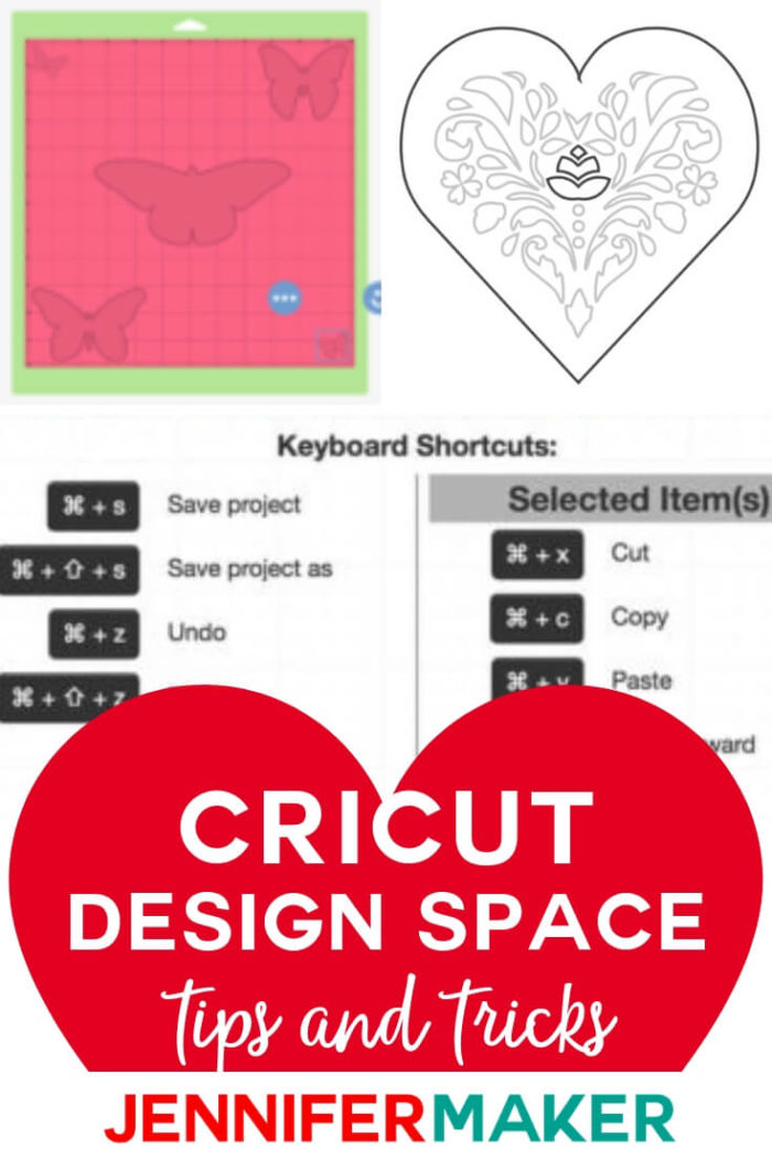 Get a Cricut designer's best tips, tricks, and tutorials for hidden secrets and easier projects! These Cricut Design Space tutorials cover everything from how to hide the grid to how to share your canvas!  #cricut #cricutmade #cricutmaker #cricutexplore #cricutprojects