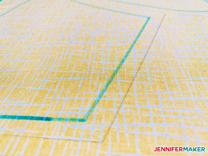 Beautiful and precise cut fabric with Cricut Explore and Maker