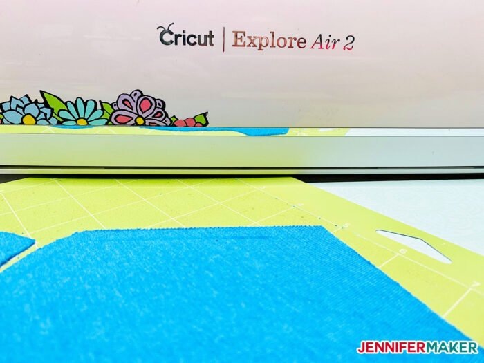Cutting knit fabric on the Cricut Explore