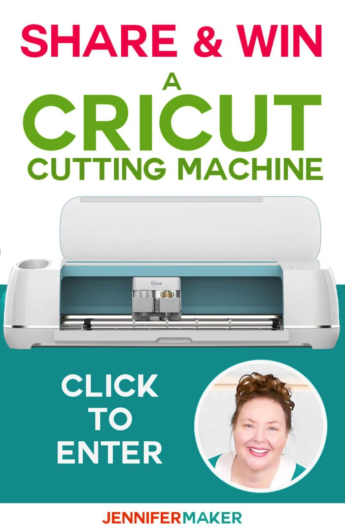 Cricut Giveaway: Enter to win a Cricut cutting machine. Contest ends on the 25th of each month. Open to US and Canadian residents only. See official rules for details. #cricut #cricutexplore #cricutmaker