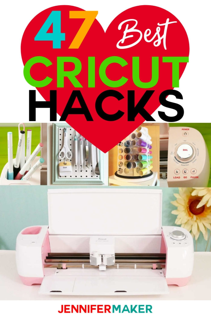 The 47 best Cricut hacks, tips, and tricks!