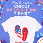 Make a Cricut Infusible Ink Shirt with Multiple Transfer Sheets - Full Tutorial and free SVG Cut File #cricut #cricutmade #infusibleink