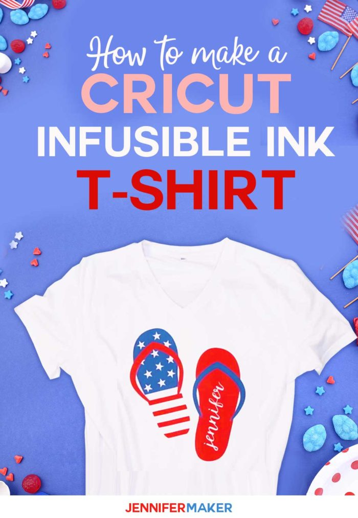 Cricut T-Shirt Idea Design with Infusible Ink #cricut #infusibleink #cricutmade