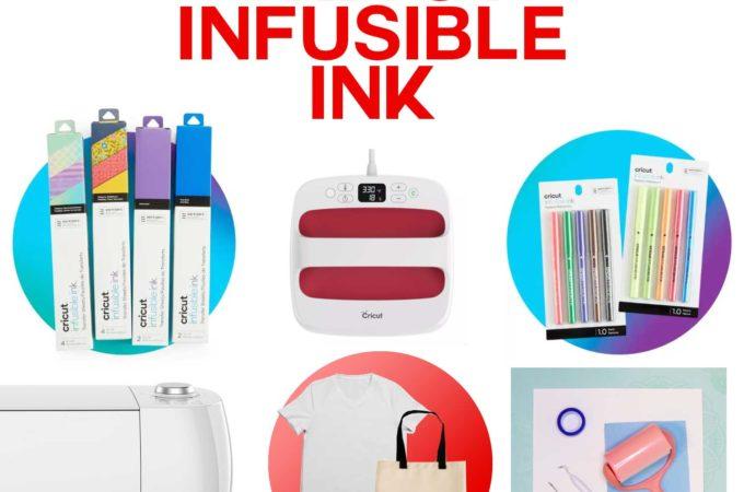 Cricut Infusible Ink - What to Buy and Project Supplies to Get Started #cricut #infusibleink #easypress