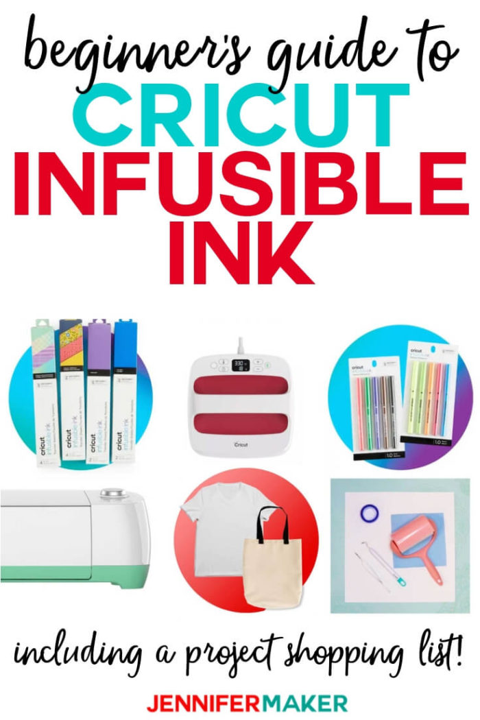 Learn what you need to buy to get started making great Cricut Infusible Ink projects!   #cricut #cricutmade #cricutmaker #cricutexplore #svg #svgfile