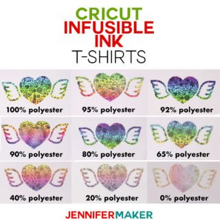 Cricut Infusible Ink T-Shirts: Which Shirts Work Best #cricut #infusibleink #tshirts #easypress