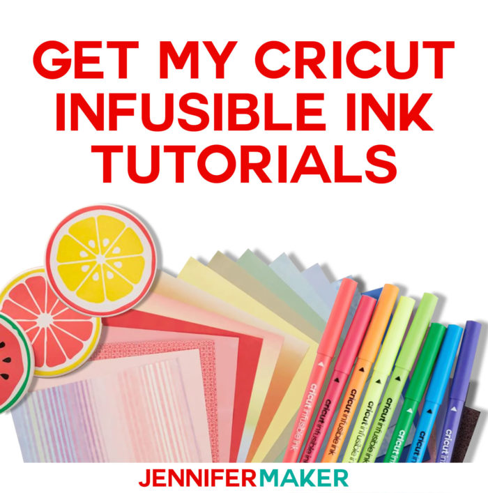 Get my Cricut Infusible Ink Tutorials!