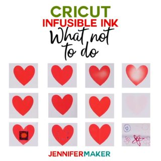 Cricut Infusible Ink: Tips and Tricks on What Not to Do #infusibleink #cricut #easypress